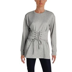 NWT Aqua Casual Sweater Dress w Corset Waist